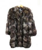 EMBA(エンバ)の古着「ファーコート」|ブラウン