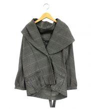MARC JACOBS(マークジェイコブス)の古着「ショートジャケット」|グレー