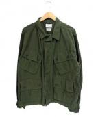 CAL O LINE(キャル オー ライン)の古着「ミリタリージャケット」|オリーブ