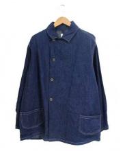CAL O LINE(キャル オー ライン)の古着「denim over coat」|インディゴ