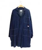 CAL O LINE(キャル オー ライン)の古着「DENIM SHOP COAT」|インディゴ