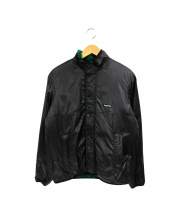 SUPREME(シュプリーム)の古着「ボアナイロンジャケット」|グリーン×ブラック