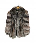 Belle Vison(ベルビジョン)の古着「ファーコート」|ブラウン