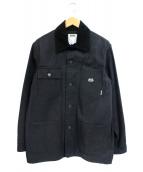 DUPPIES(ダッピーズ)の古着「カバーオール」|ブラック