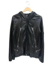 FAKTOR(ファクター)の古着「ラムレザージャケット」|ブラック