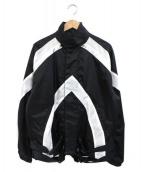 AVALONE(アヴァロン)の古着「MOTOR CYCLE JACKET」|ブラック×ホワイト