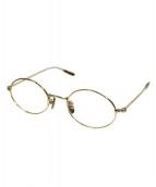 A.D.S.R.(エーディーエスアール)の古着「伊達眼鏡」|ゴールド