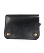 ARTS&CRAFTS(アーツアンドクラフツ)の古着「2つ折りレザー財布」|ブラック