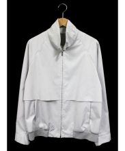 Calvin Klein(カルバンクライン)の古着「PLATINUM BONDED POLY ブルゾン」|グレー