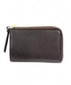 SLOW AND COMPANY(スロウアンドコンパニー)の古着「2つ折り財布」 ブラウン