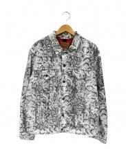 Supreme×LEVIS(シュプリーム×リーバイス)の古着「デニムジャケット」|ブラウン×ホワイト