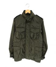 ALPHA(アルファ)の古着「ナイロンM65ジャケット」 オリーブ