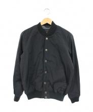 DEUS EX MACHINA(デウスエキスマキナ)の古着「CHUCK FLEECE BOMBER」|ブラック