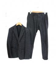 ESTNATION(エストネーション)の古着「ウールジャガードセットアップジャケット」|グレー