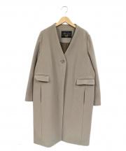 SLOBE IENA(スローブ イエナ)の古着「Vネックノーカラーコート」|グレー