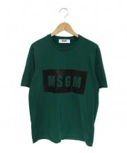 MSGM(エムエスジーエム)の古着「ロゴプリントTシャツ」