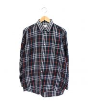 Burberrys(バーバリーズ)の古着「ノバチェックシャツ」|ネイビー