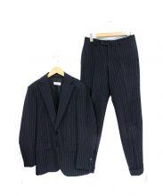 TOMORROW LAND PILGRIM(トゥモローランド ピルグリム)の古着「3ピースセットアップスーツ」|ネイビー