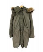 Giacometti(ジャコメッティ)の古着「ライナー付モッズコート」|オリーブ