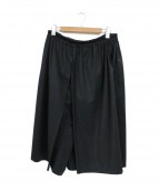 GROUND Y(グランド ワイ)の古着「ハーフパンツ」|ブラック