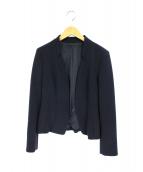COUP DE CHANCE(クード シャンス)の古着「ノーカラーテーラードジャケット」