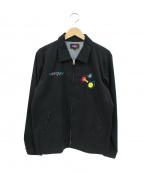 ROTAR(ローター)の古着「刺繍スイングトップ」|ブラック