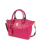 Samantha Thavasa(サマンサ タバサ)の古着「2WAYハンドバッグ」|ピンク