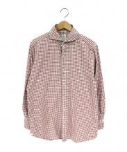finamore(フィナモレ)の古着「チェックシャツ」