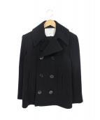 FIDELITY(フィデリティ)の古着「ウールPコート」|ブラック