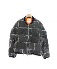 CAPLANENTWISLE(カプラネットウィズル)の古着「パッチワークボンバージャケット」