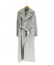 iCB(アイシービー)の古着「アンゴラ混ロングコート」