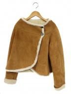OWEN BARRY(オーエンバリー)の古着「ムートンポンチョジャケット」