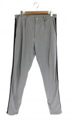 rin(リン)の古着「スキニーラインパンツ」|グレー×ブラック