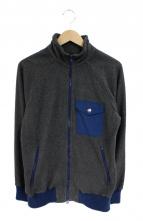 Battenwear(バテンウェア)の古着「フリースジャケット」|ネイビー×グレー