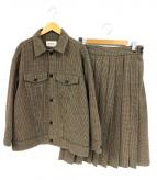 BEAMS BOY(ビームスボーイ)の古着「ウールガングラフセットアップ」