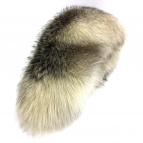 SAGA FOX(サガフォックス)の古着「ファーティペット」|グレー×ホワイト
