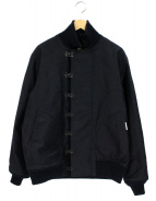 Buzz Ricksons(バズリクソンズ)の古着「デッキフックジャケット」 ブラック