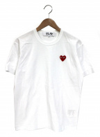 PLAY COMME des GARCONS()の古着「ワッペン付きTシャツ」