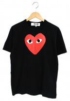 PLAY COMME des GARCONS()の古着「プリントTシャツ」