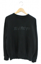 X-LARGE(エクストララージ)の古着「ロゴクルーネックスウェット」|ブラック