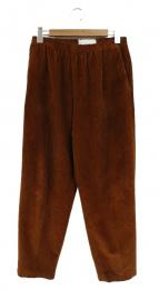 CellarDoor(セラドール)の古着「コーデュロイイージーパンツ」|ブラウン