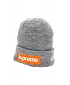SUPREME×NEWERA(シュプリーム×ニューエラ)の古着「ボックスロゴニット帽」