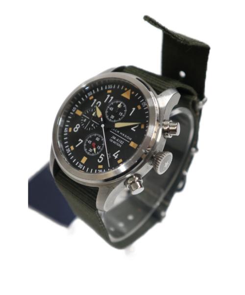 JACK MASON(ジャックメイソン)JACK MASON (ジャックメイソン) 腕時計 ブラック サイズ:下記参照 JM-A102-021の古着・服飾アイテム
