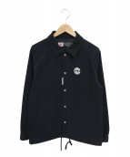 CHARI & CO NYC(チャリアンドコー)の古着「LENNON TEXT COACH JACKET」