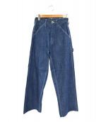 UNIVERSAL OVERALL(ユニバーサルオーバーオール)の古着「デニムパンツ」|ブルー