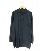 MONOBI(モノビ)の古着「ステンカラーコート」|グレー