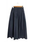 GALERIE VIE(ギャルリーヴィー)の古着「コットンシルクタックロングスカート」