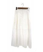MACPHEE(マカフィー)の古着「シアーマキシスカート」