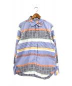 Engineered Garments(エンジニアードガーメンツ)の古着「マルチパターンブロックシャツ」