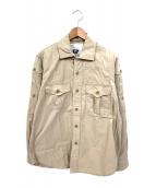 Engineered Garments(エンジニアードガーメンツ)の古着「サファリシャツ」